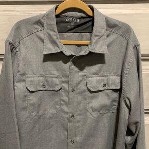 Men's Long Sleeve Orvis shirt